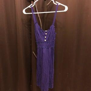 Beach dress purple